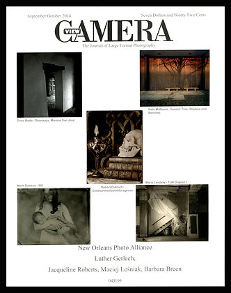 View Camera magazine, September and October 2014