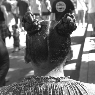 Curly tails at the 4th Avenue Street Fair