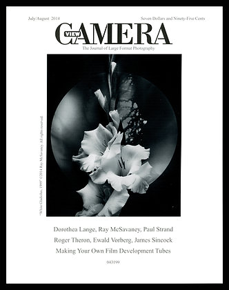 View Camera magazine, July and August 2014