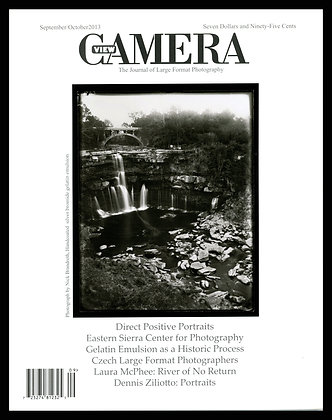 View Camera magazine, September and October 2013