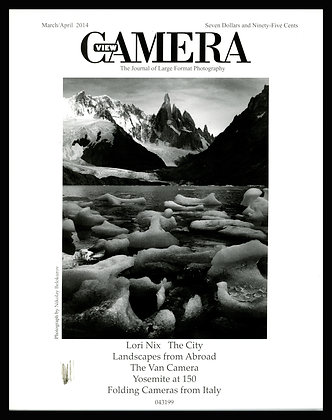 View Camera magazine, March and April 2013