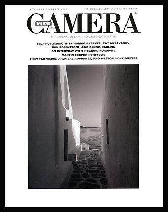 View Camera magazine, November and December 2000