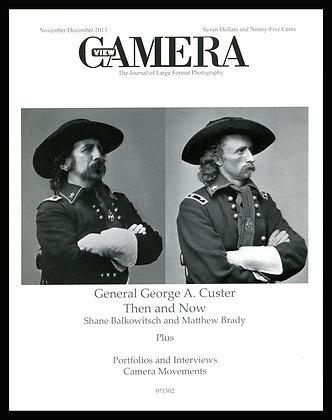 View Camera magazine, November and December 2013