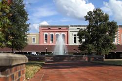 town center fountain Monticello