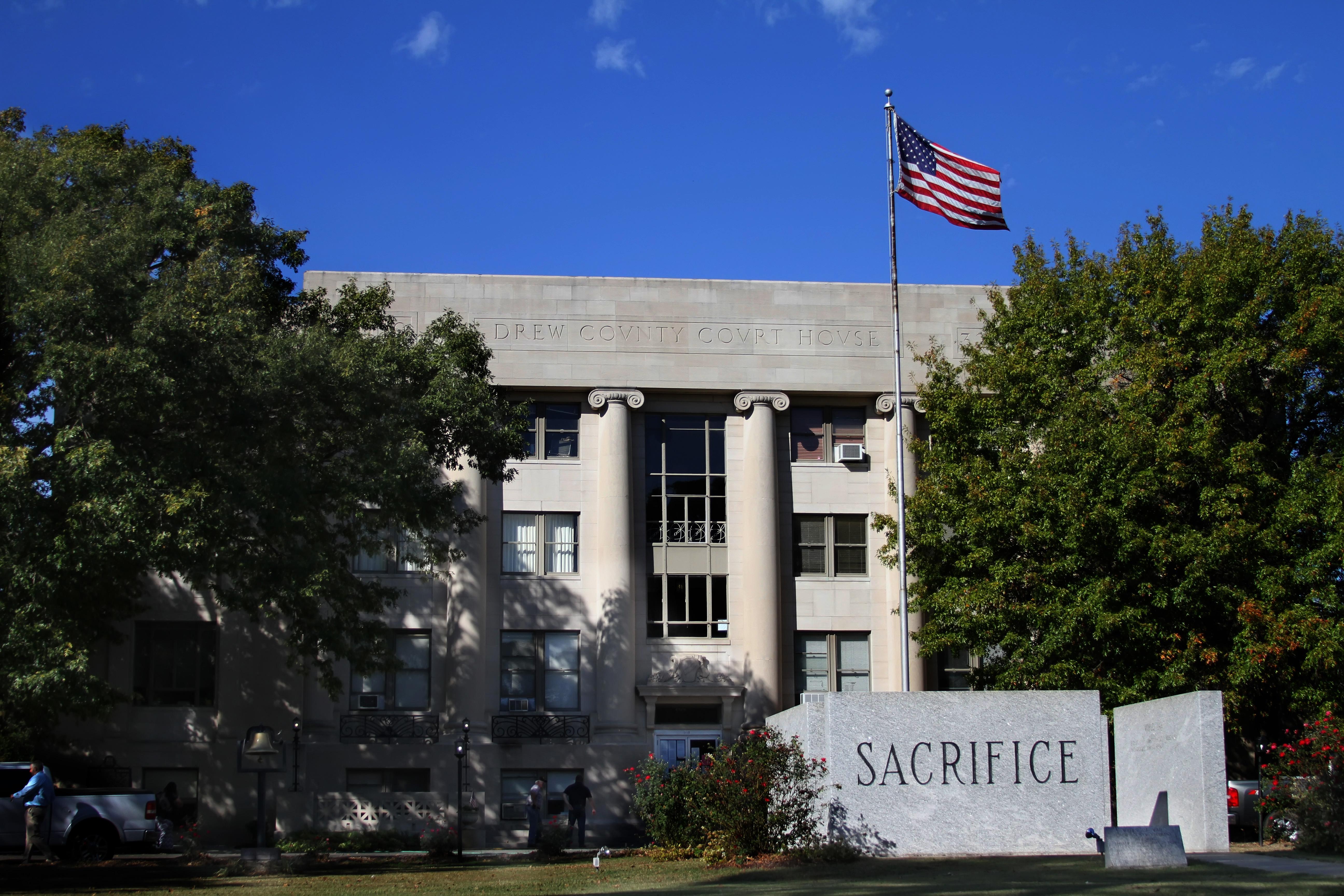 Drew County Court House Monticello