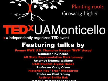 TEDxUAMonticello 3/26