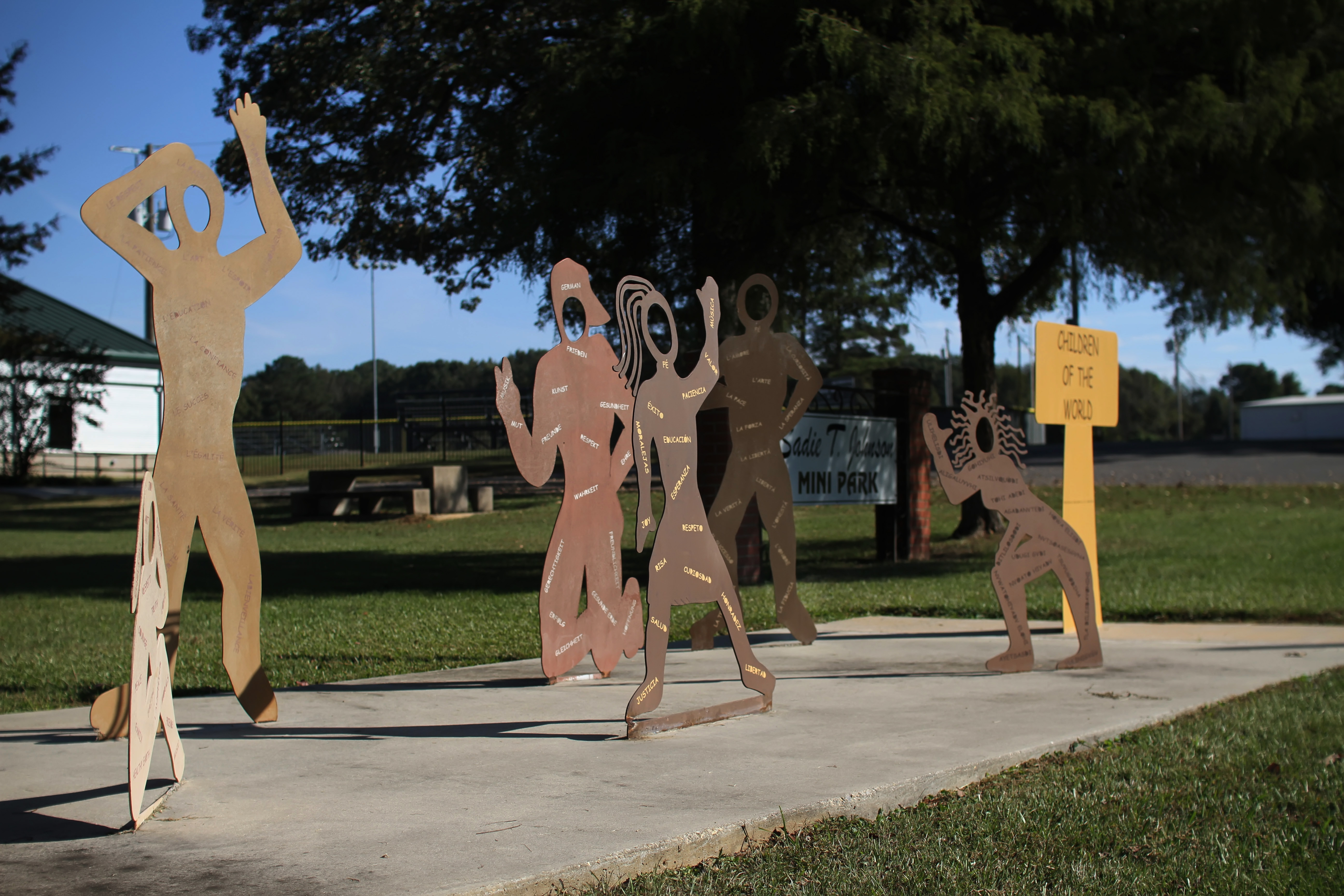 art sculptures in Monticello, AR