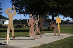 art sculptures in Monticello, AR