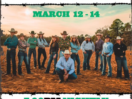 Weevil Stampede March 12-14