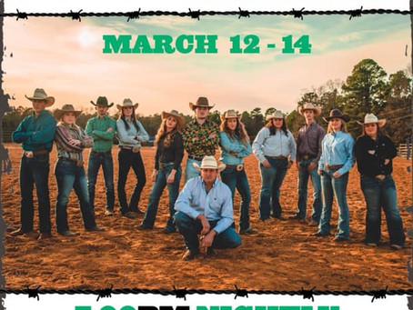 Weevil Stampede March 12-14