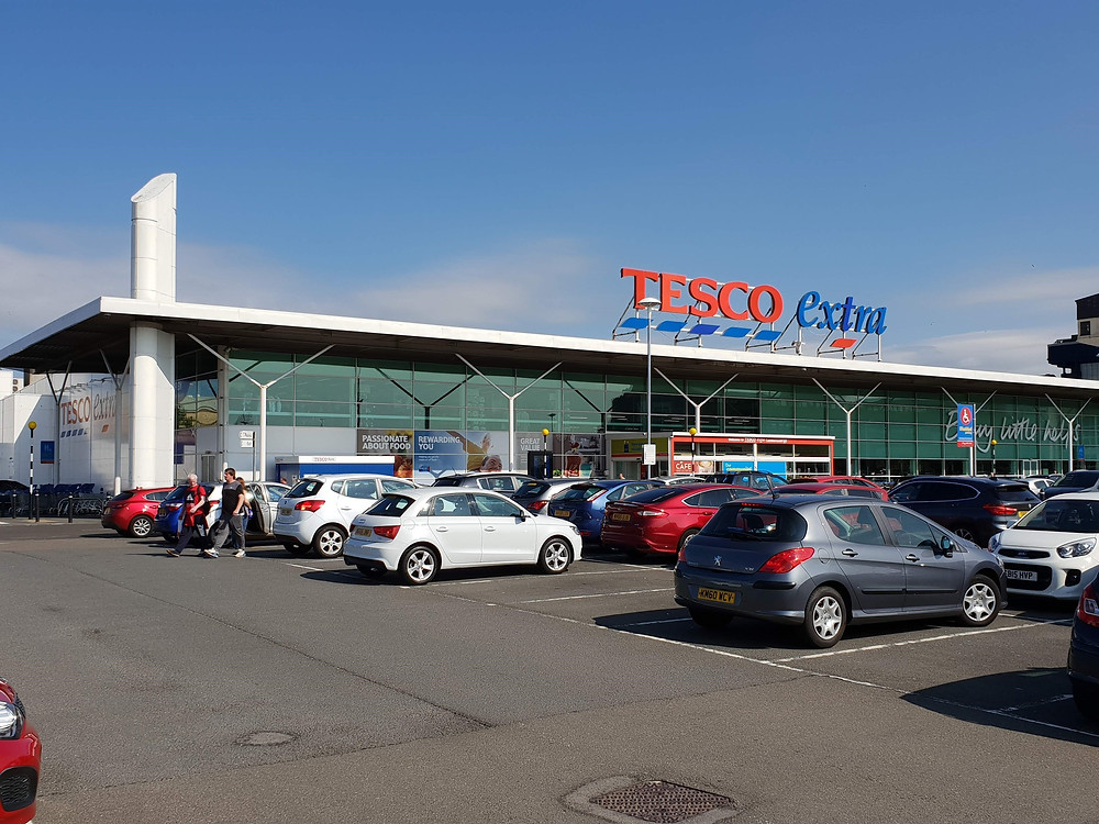 Tesco Extra Cumbernauld Glasgow Omnichannel