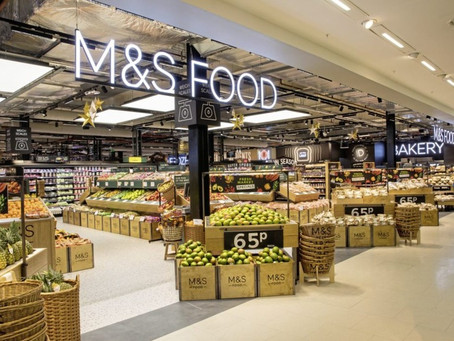 M&S half year results