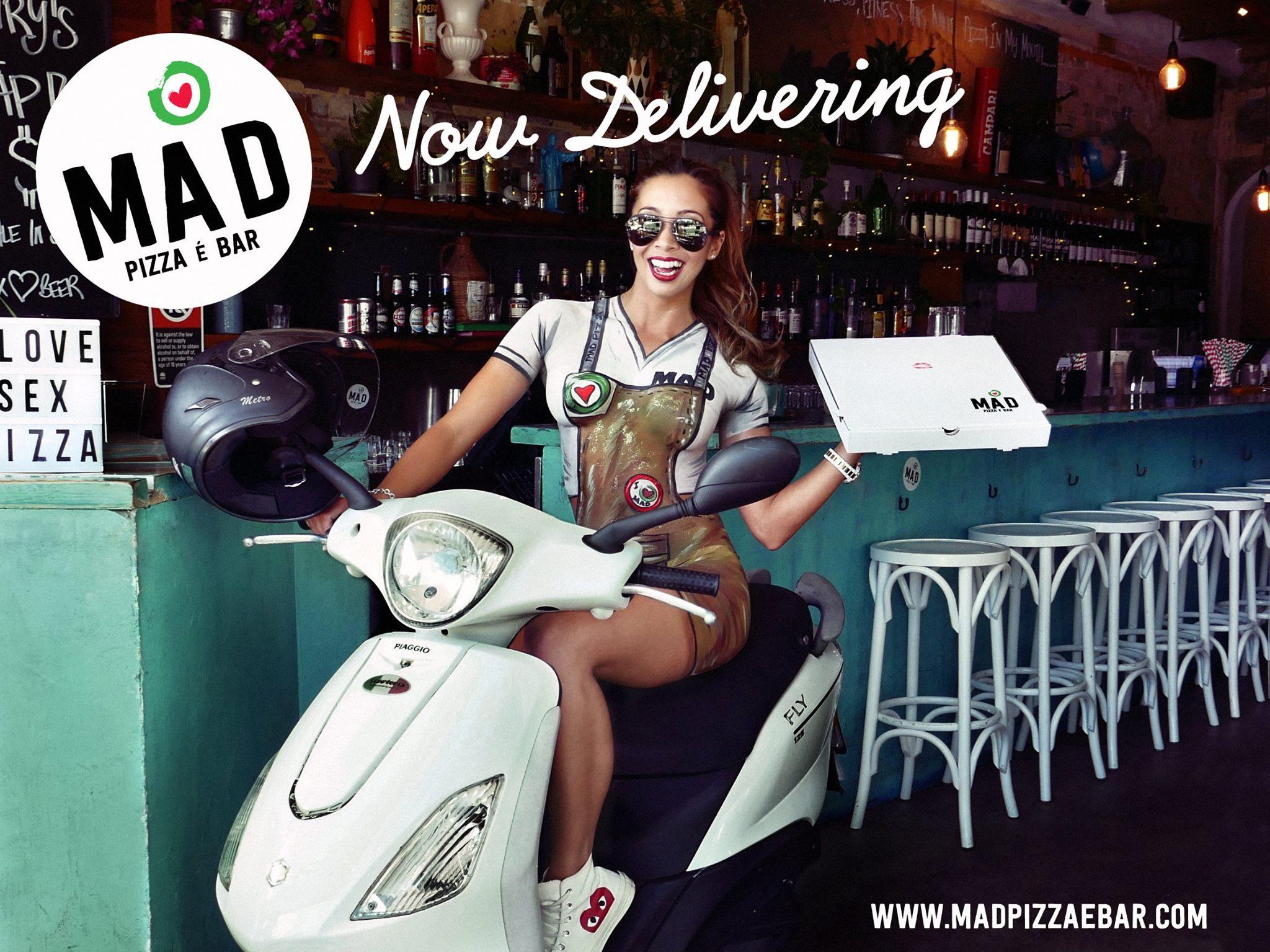 Mad Pizza- Bondi Australia