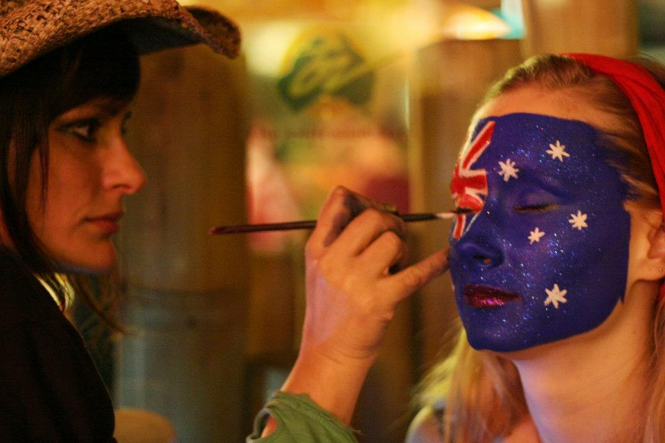 Australia day- Paris