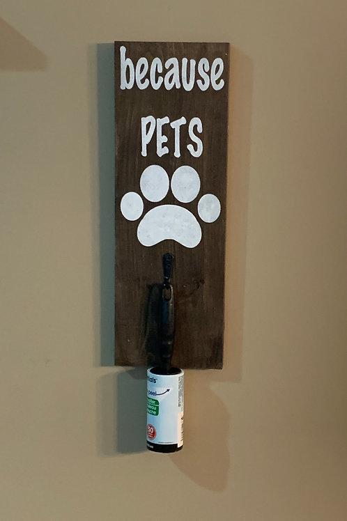 Becasue Pets Lint Roller