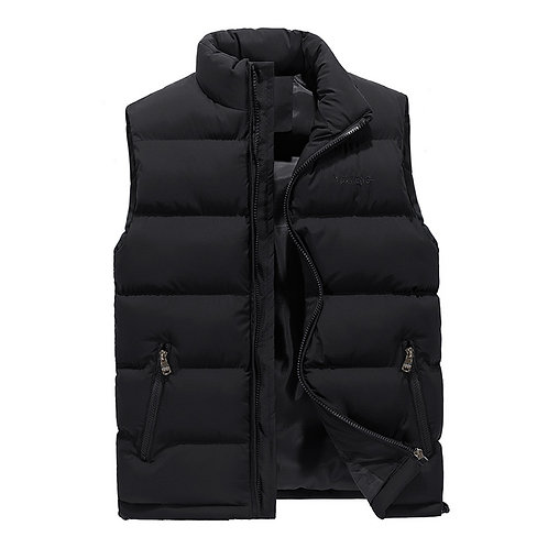 Winter Quilted Puffer Vest