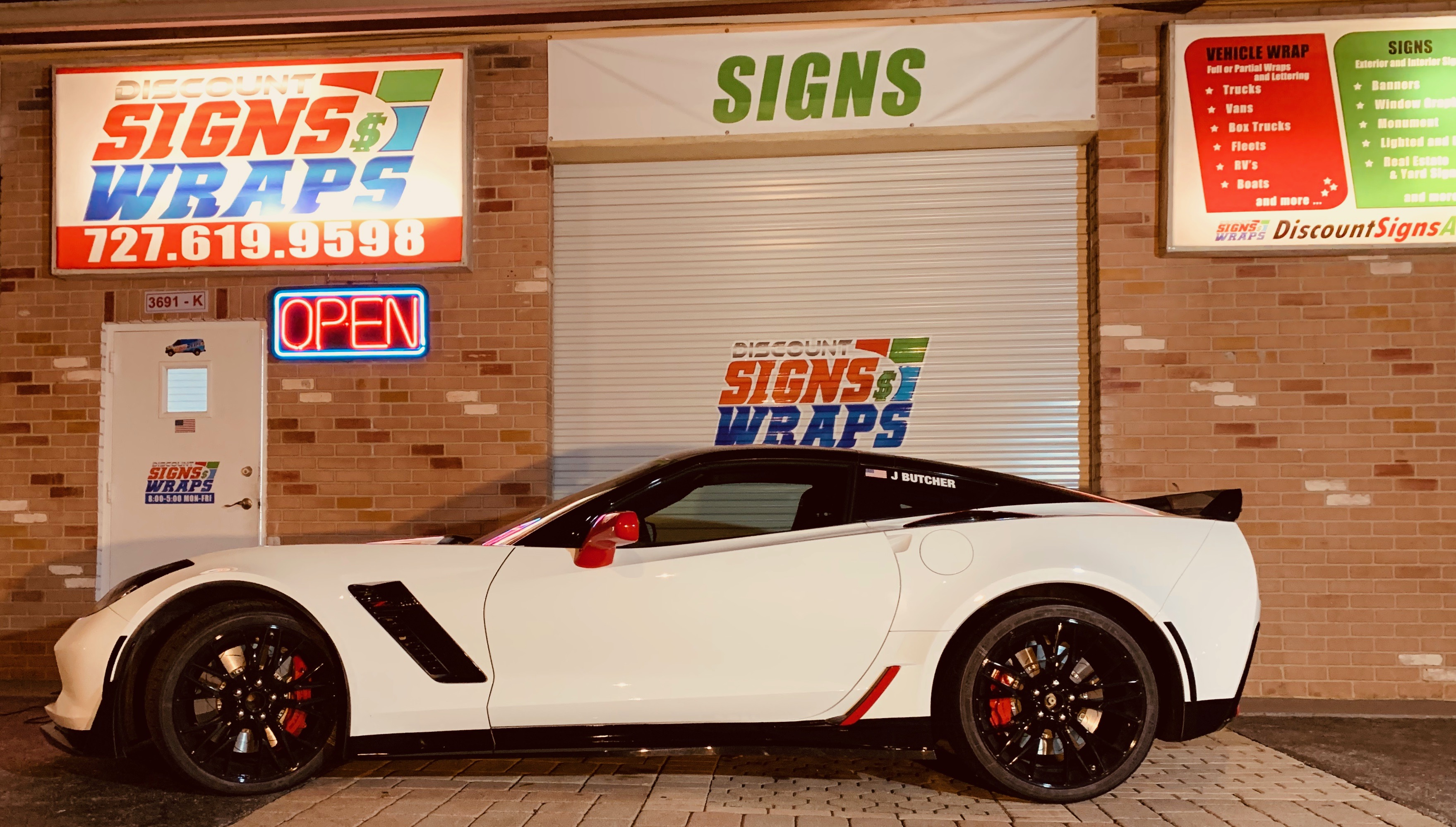 RACE CAR DECALS AND WRAPS