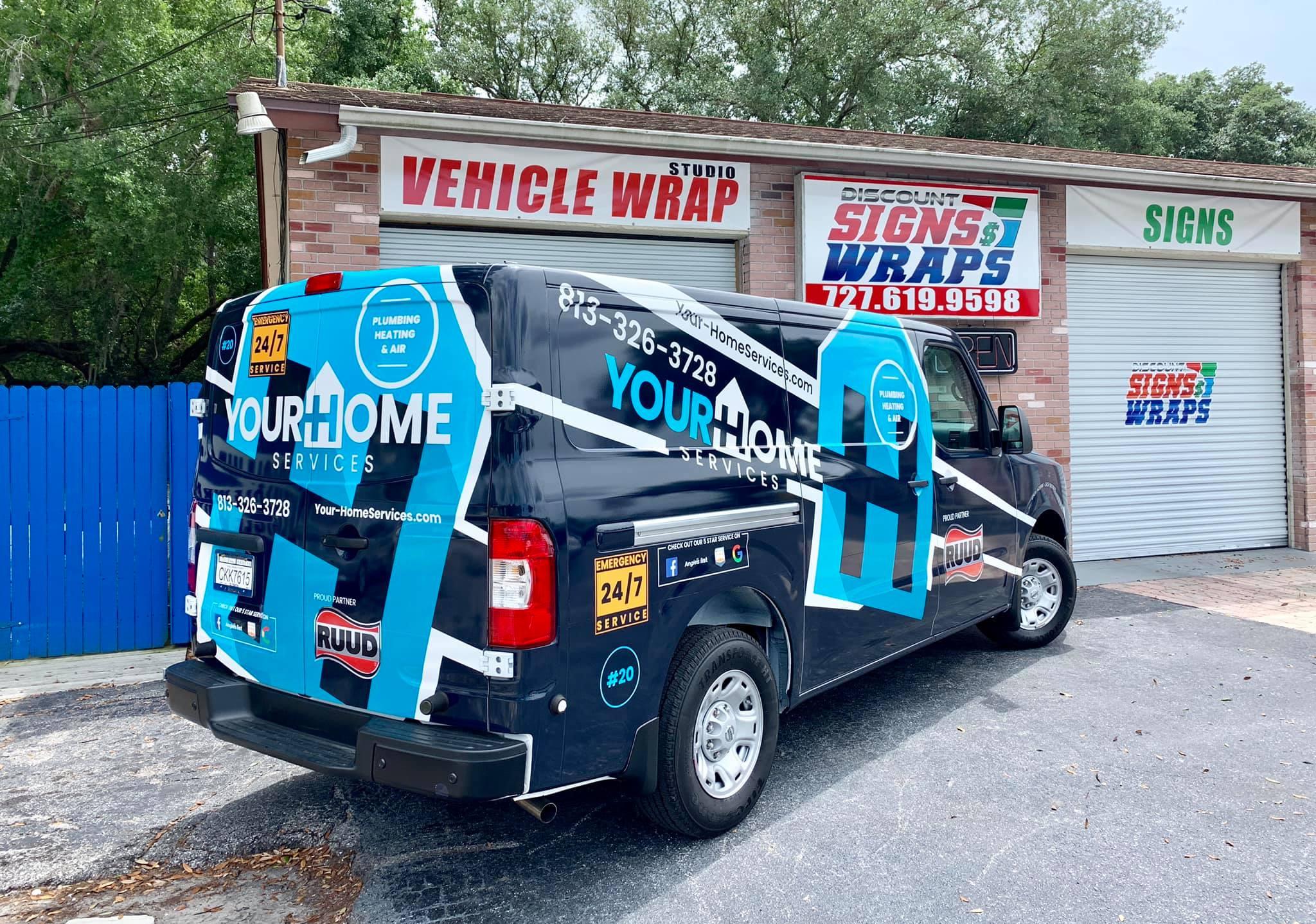 Cool van wraps