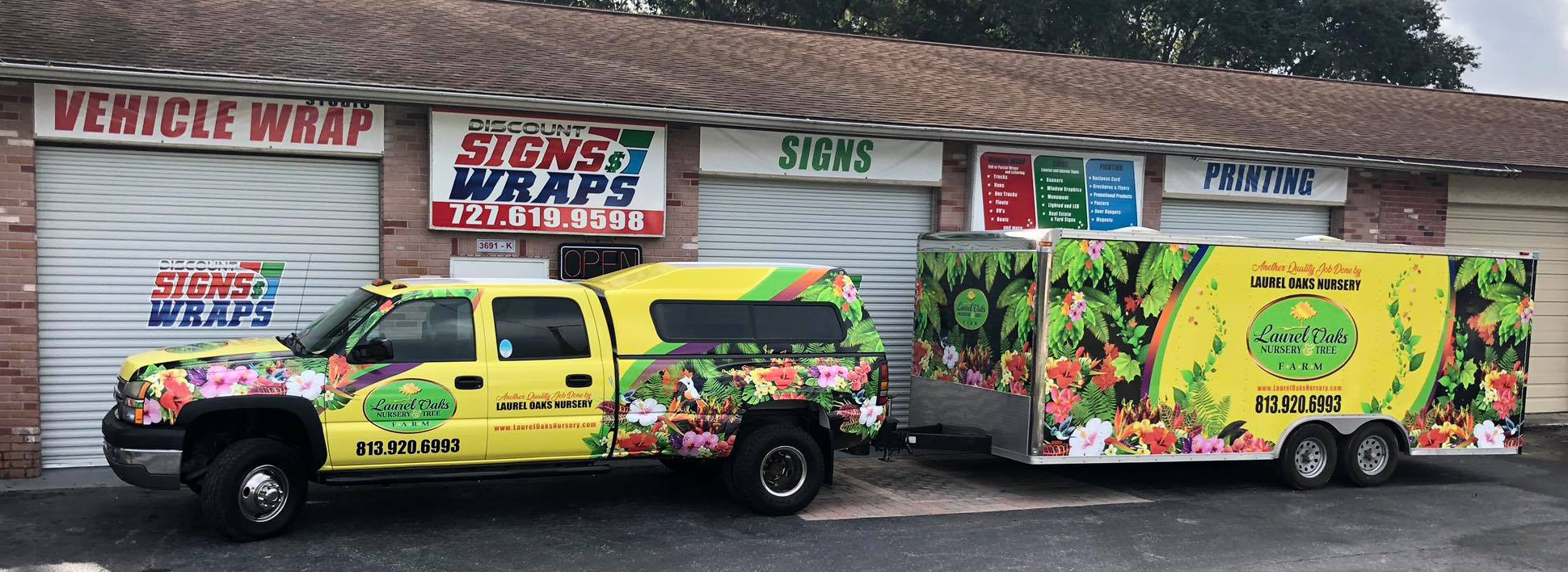 Truck Wrap and Discounted Price
