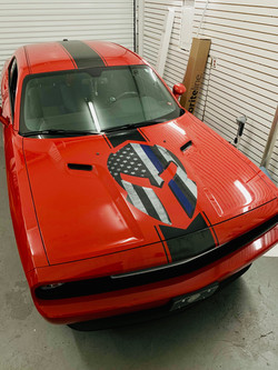 AMERICAN MUSCLE CAR DECALS