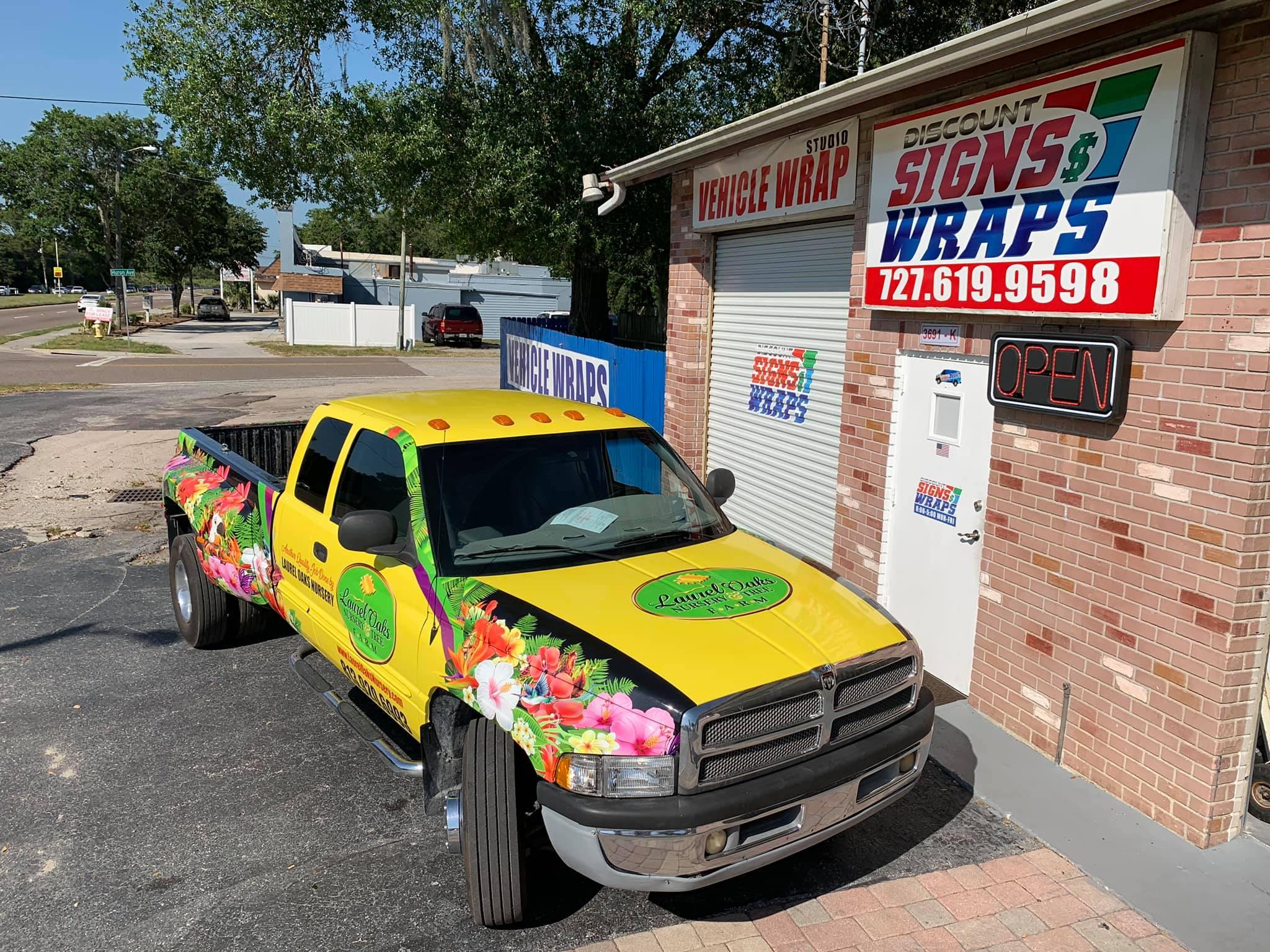 Truck wrap looks unbelievable