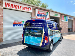 FULL VAN WRAP FOR PPH POOL SERVICES