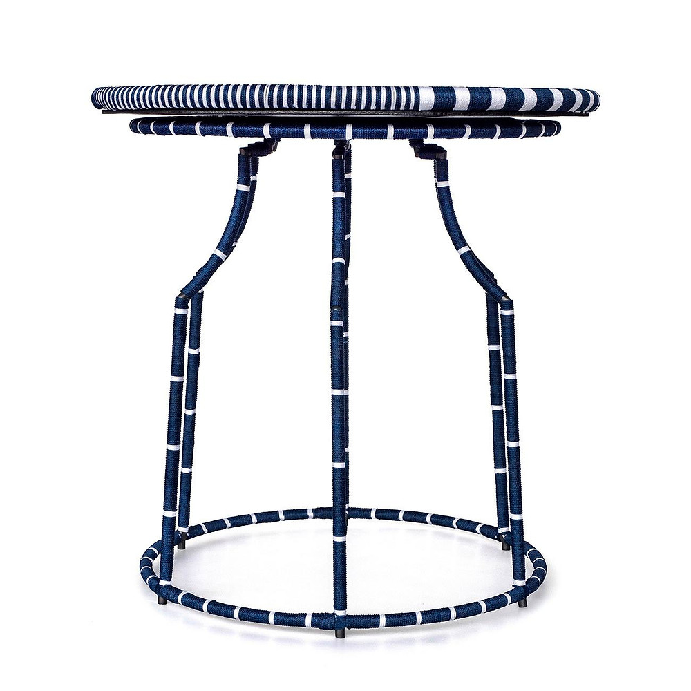 サイドテーブル ブルー