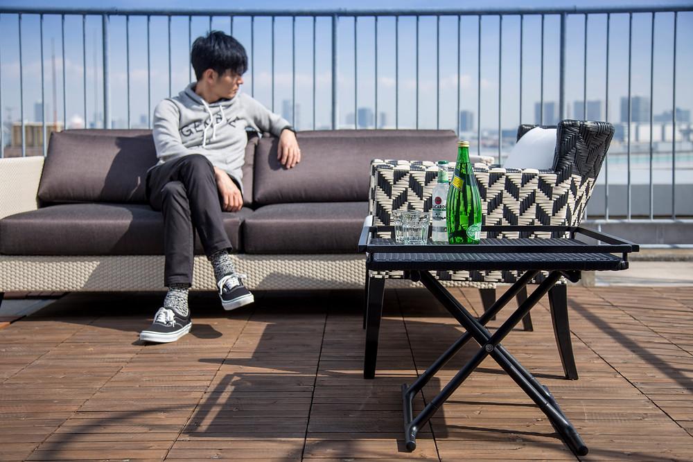 屋外テーブル YOTHAKA