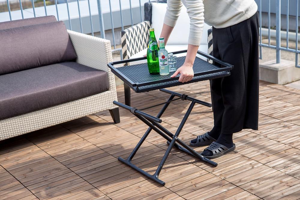 YOTHAKA 屋外テーブル 折りたたみ