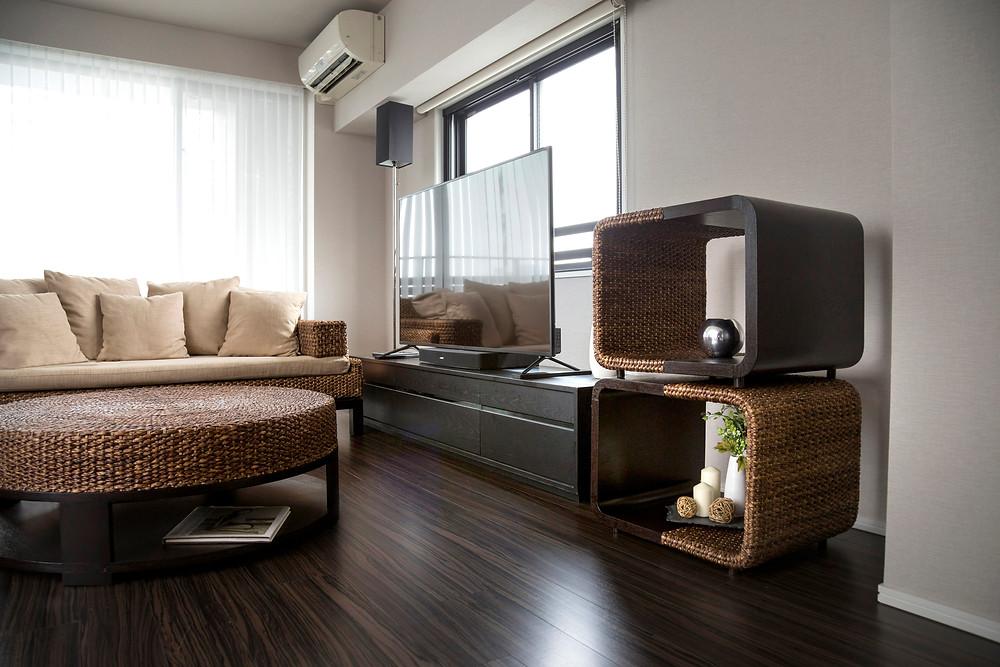 アジアン家具 ヨタカ サイドテーブル