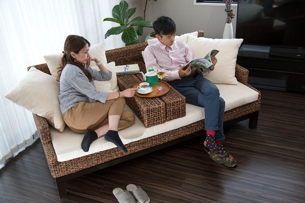 アジアン家具 ソファ