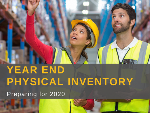 Planning For Year-End Physical Inventory