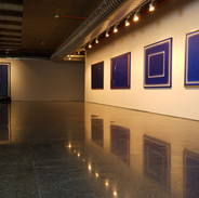 Vista da exposição Cartografia poética, 2019. Galeria BNDES