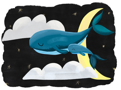 Floating whales