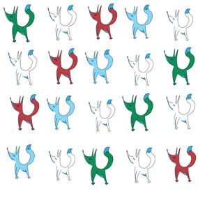Fox pattern