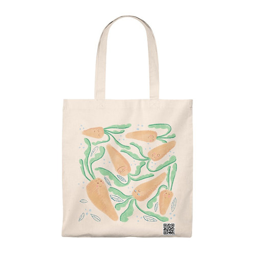Cute Carrots Tote Bag - Vintage