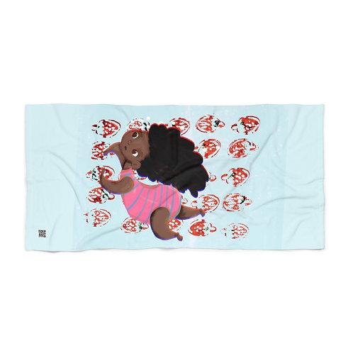 Strawberry Swimming Beach Towel