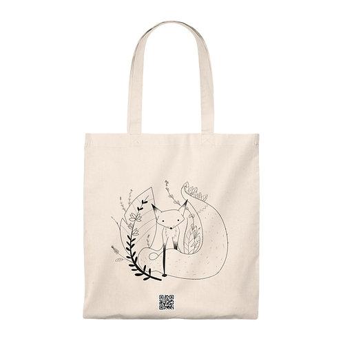 Cute fox Tote Bag - Vintage