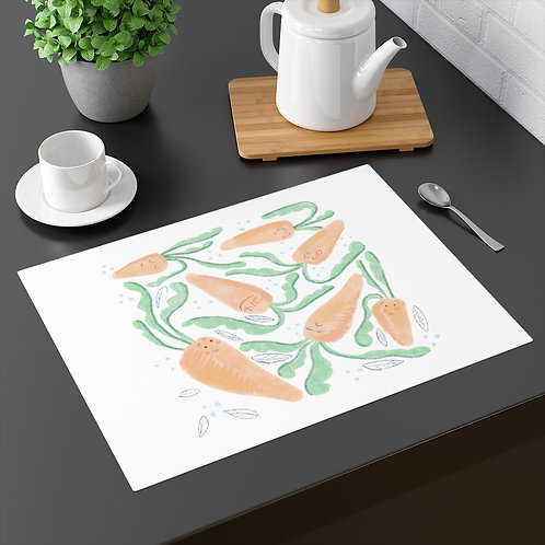 Cute Carrots Placemat