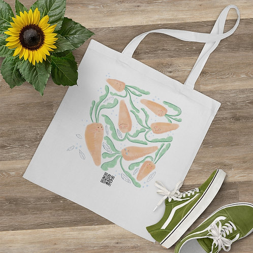 Cute Carrots Tote Bag