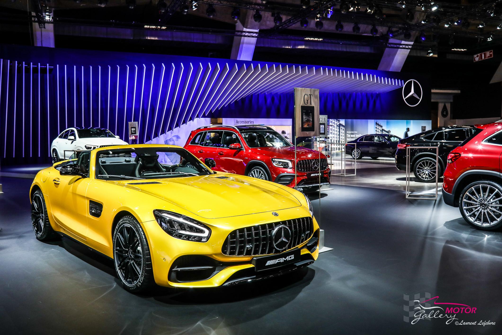 Salon de l'auto Bruxelles 2020