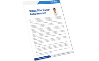 Remote Office Storage: Go Hardware-less