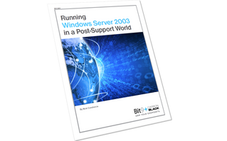 Running Windows Server 2003 in a Post-Support World