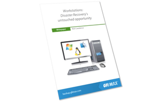 Whitepaper - Workstations: Disaster Recovery's Untouched Opportunity
