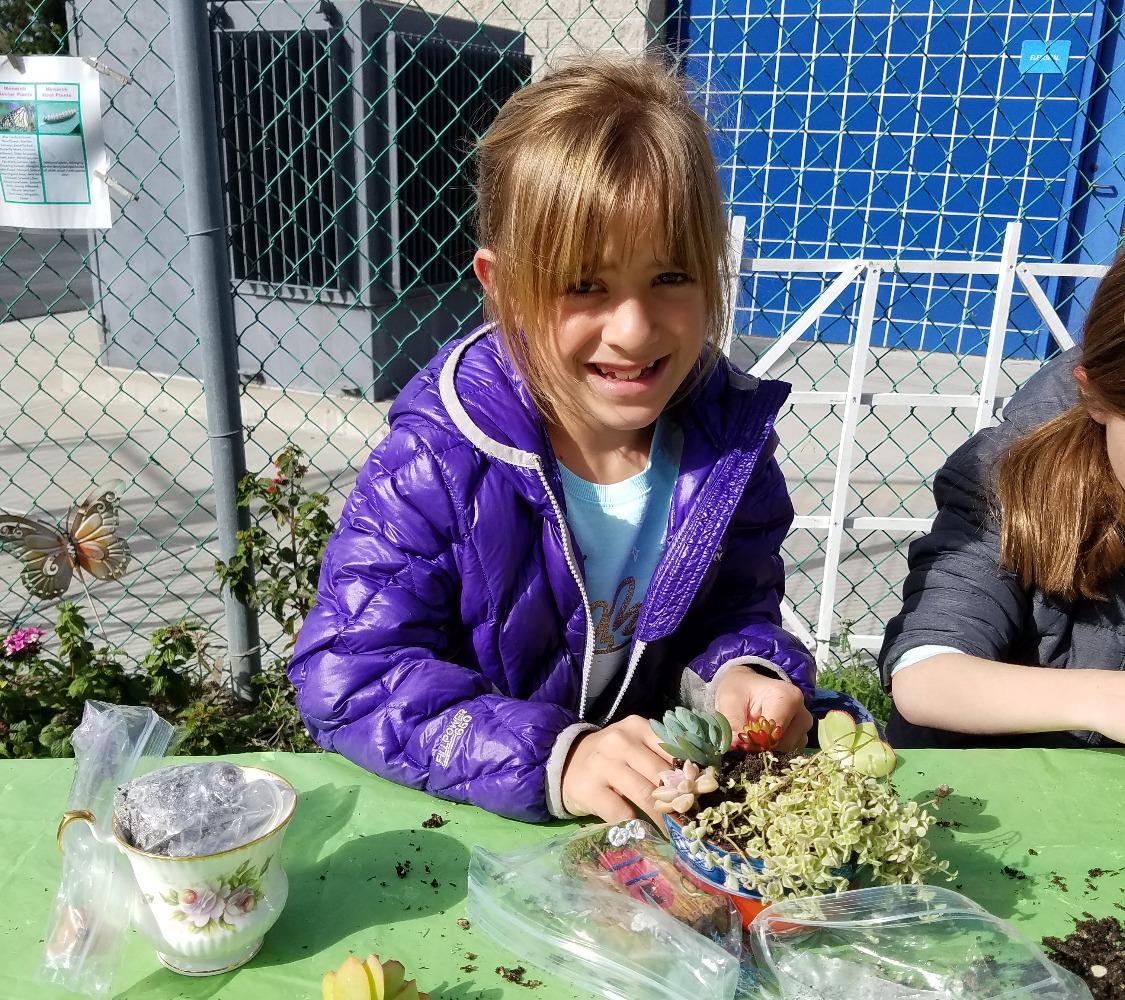 A 3rd Grade Garden Leader