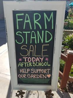 Farm Stand Sale