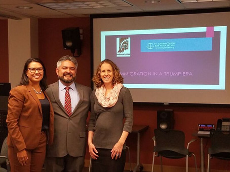 ILBA HOSTS IMMIGRATION CLE WITH ST JOSEPH COUNTY BAR ASSOCIATION