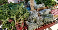 Farm stand Sale brought to you by the Entrepreneurial Experience II Team
