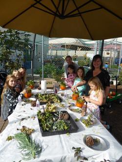 Family fun in the garden!