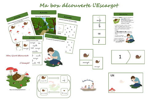 "Ma box découverte ""L'Escargot"""